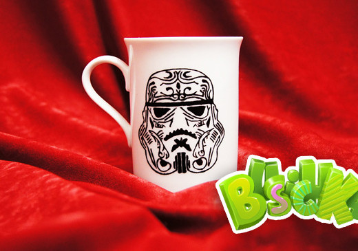 Чашка Starwars ручная роспись