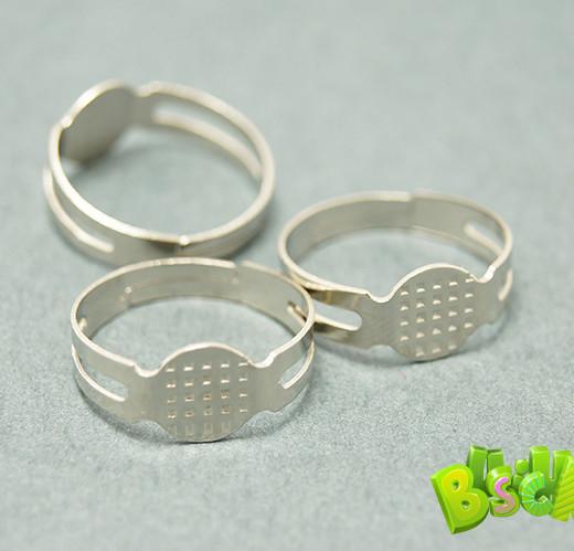 Основа для кольца, серебряный
