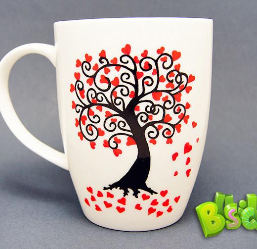 Чашка Дерево любви