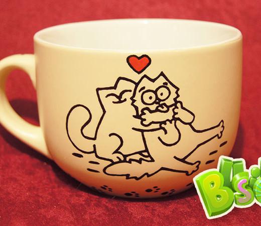 Чашка Котообнимашки