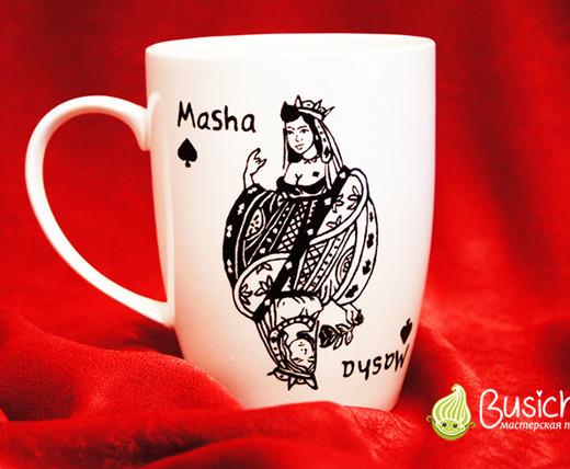 Чашка Пиковая дама