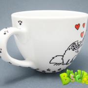 Чашка Кошачьи нежности фото 1