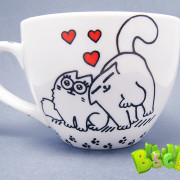 Чашка Кошачьи нежности фото 3