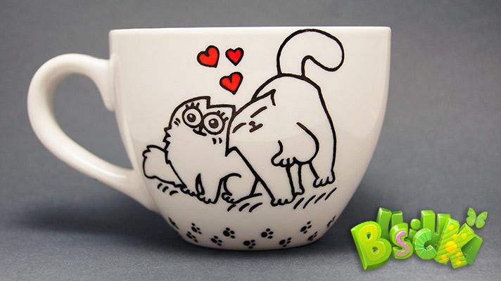 Чашка Кошачьи нежности фото 2