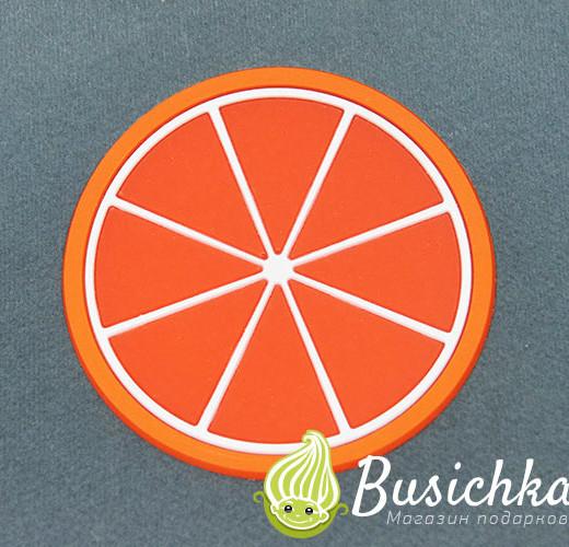 Силиконовая подставка Апельсин 8 см